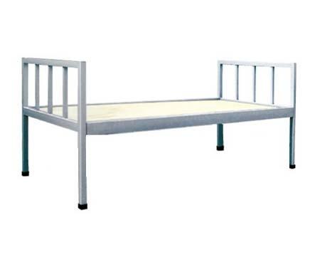 钢架单人床